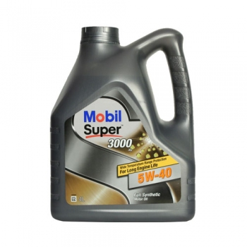 Моторное масло Mobil Super 3000 X1 5W-40, 4л